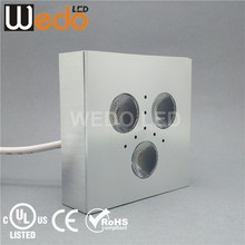 UL square 3w Dimmable cabinet light