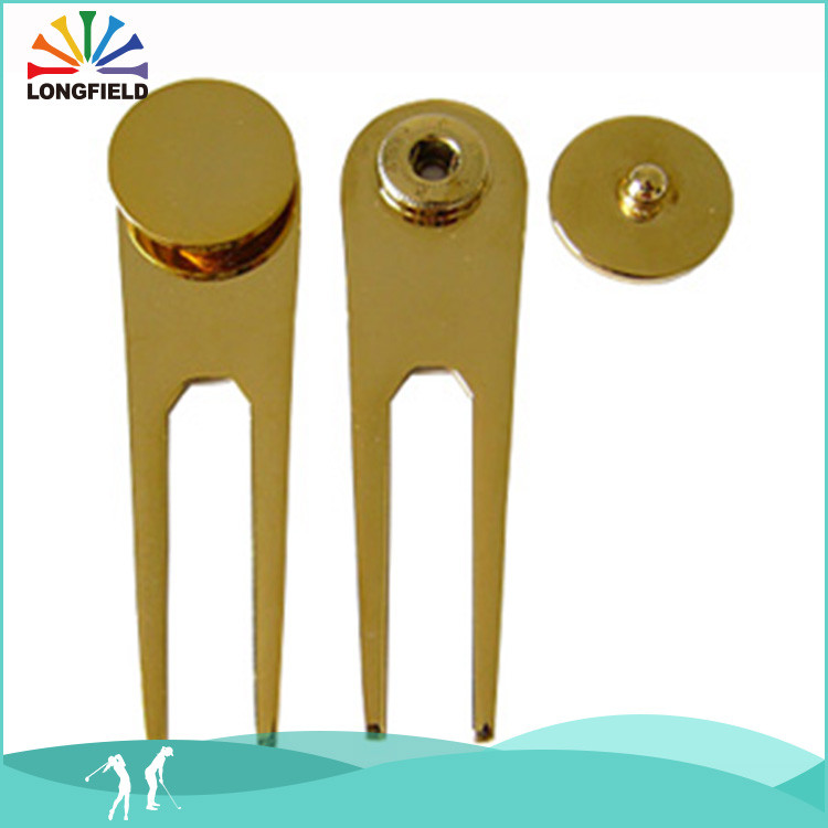 Wholesale set repair tool , golf divot tool with velcro