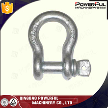Special Surface Customized Plastic Spraying Powder Coated Paint Black Shackle