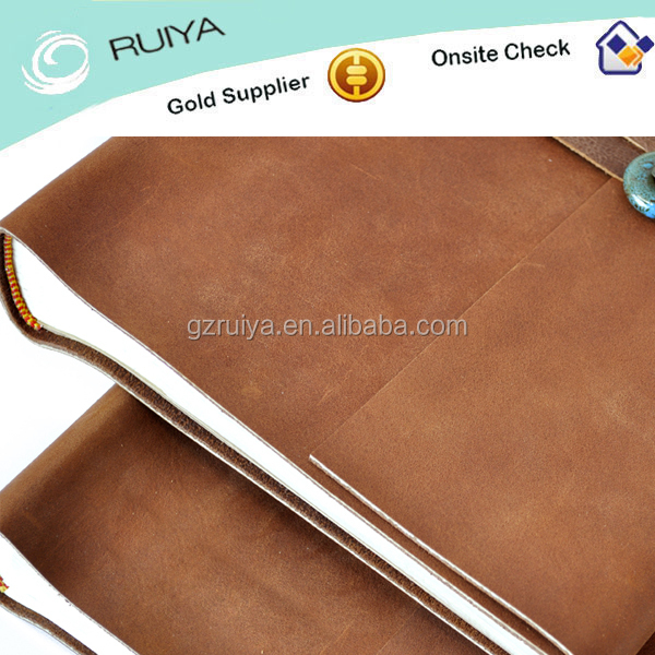 Customized Handmade Leather Journal Diary/Notebook for Sale