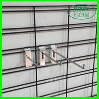 2015 New products multifunctional Black Welded Wire Mesh Slat Display Panels