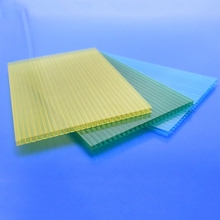 Double wall polycarbonate sheet 4x8 plastic sheet lows price