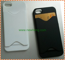ID Credit Card PC Hard Wallet Case for iphone5