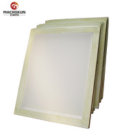 high quality aluminum silk screen printing frame with mesh for screen printing