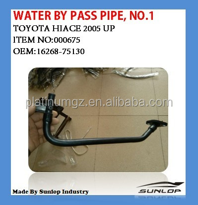 TOYOTA HIACE AUTO PARTS WATER BY PASS PIPE,NO.1 GOOD QUALITY BEST PRICE