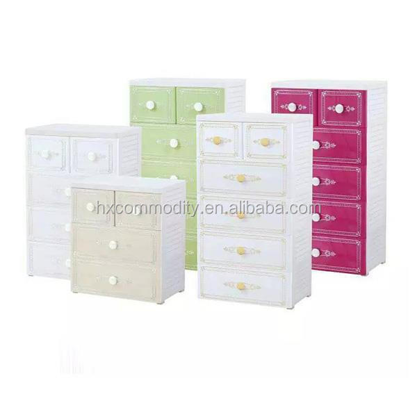Houseware Newly design 3-Layer students Plastic Drawers