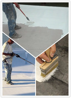 roofing liquid waterproof materials JS compound waterproofing coating paint for cement flat