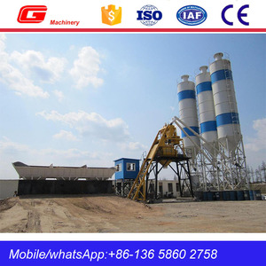 RMC HZS25 ready mix concrete batching plant for sale