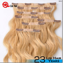 Fashion Style Hot Selling Silky Soft Top Grade Natural Color Lace Clip In cheap sally beauty supply