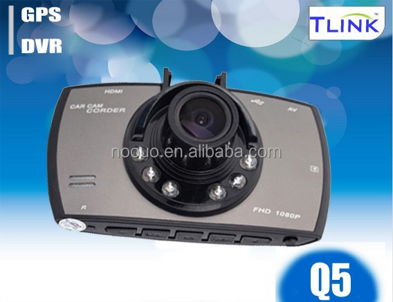 "OEM Wide View Angle 2.7"" HD 1080P Mini Car DVR With AV-IN and DVR camera Q5"