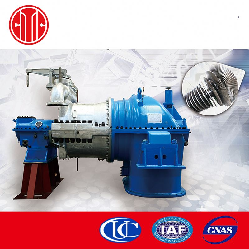 Chinese Brand Back Pressure Steam Turbine Royal Power Enerator