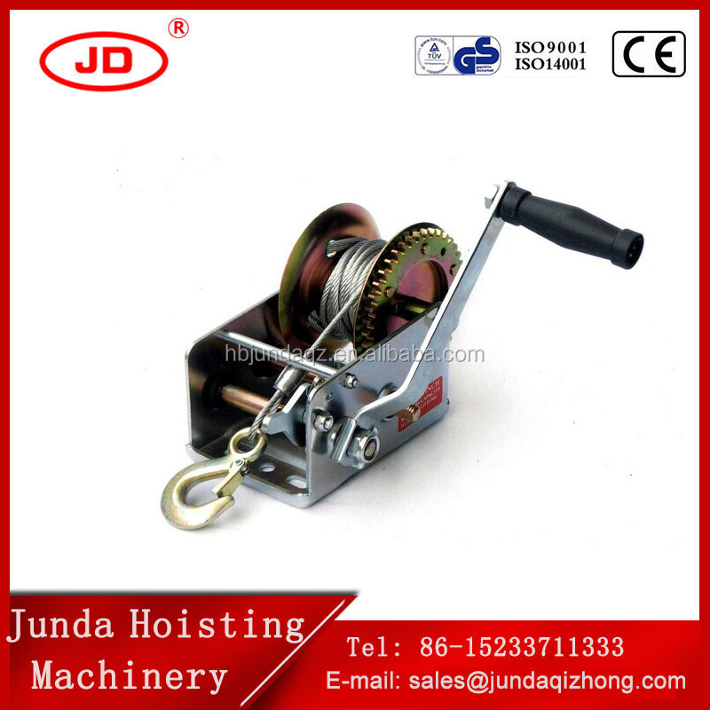 China good price galvanized manual boat winch mini hand anchor winch from china supplier