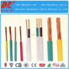 450/750v 6 mm multi copper core pvc insulated flat flexible electric cable