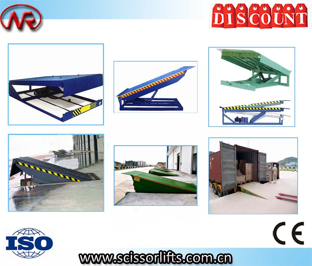 Static hydraulic loading dock ramp leveler for sale