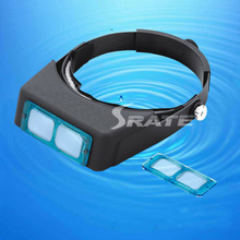 MG81007-B 4 Lens Head Band Binocular Magnifier Optivisor