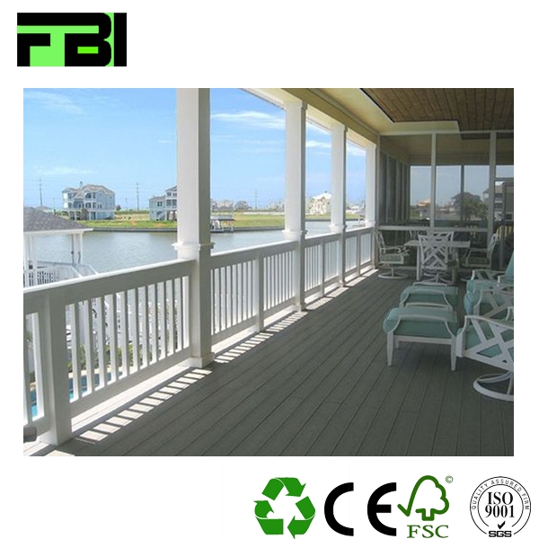 good price eco wood colorful waterproof wpc decking