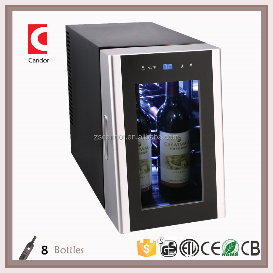 6+2 Bottles Thermoelectric Mini Wine Cooler CW-20FD