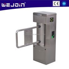 Shenzhen 304 Stainless Steel Automatic Swing Barrier Gate for Pedestrian Security