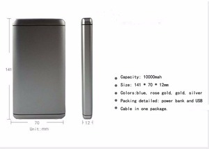 Quick Charge 2.0 Power Bank 10000mah 2 Usb Ports Smart Ic Protect and Prolong your Battery Device Life power bank fast charging