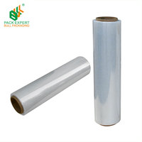 Sale High Quality 500MM Clear LLDPE Pallet Stretch Plastic Film