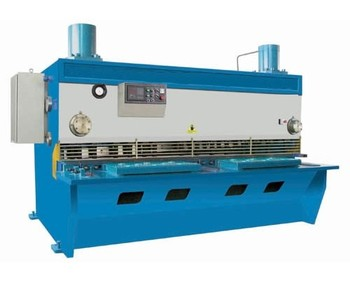Low price cnc 6*2500mm sheet metal guillotine shearing machine