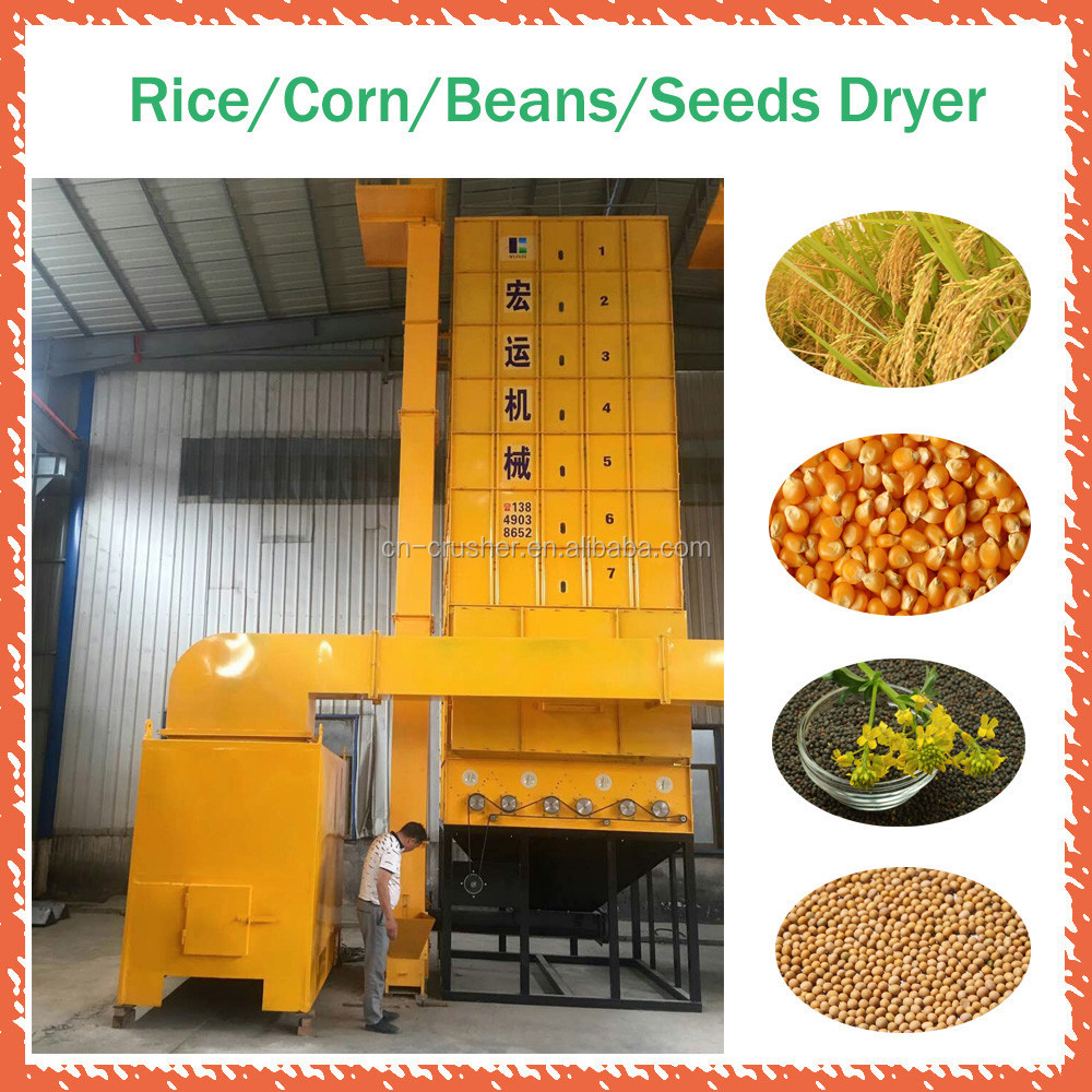 Vertical Recirculating Drying Grain Dryer with Biomass Furnace