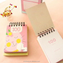 Promotional gift item Cheap Custom Small Notebook With Pen