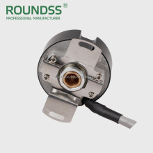 8/9 mm shafted ultra thin servo motor 2500 ppr encoder dc uvw motor encoder