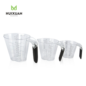 Hot selling ps plastic measuring cups set