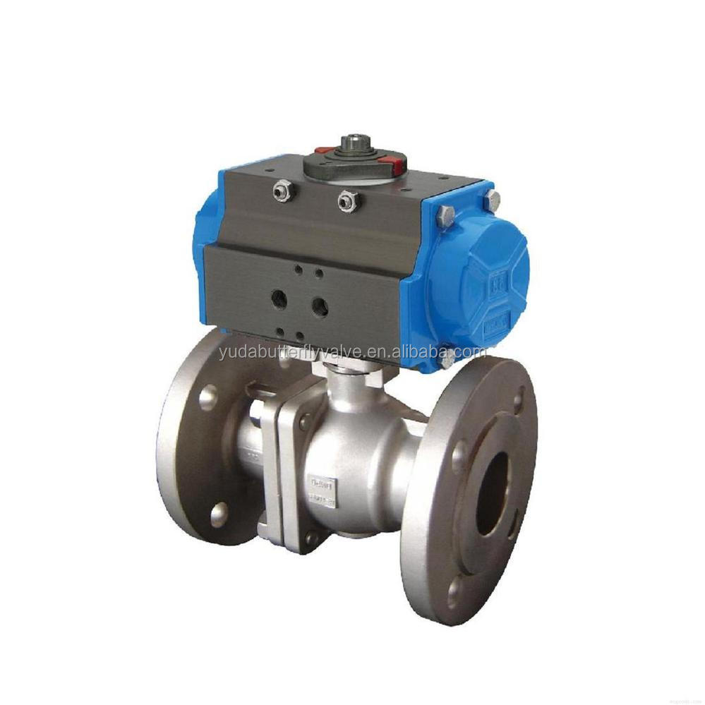 New float ball valve with solenoid linear actuator production
