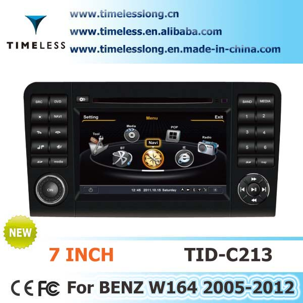 S100 Car Stereo DVD for BENZ ML350 2005-2011 year with A8 chipest, gps, bluetooth, sd, ipod, 3g, wifi