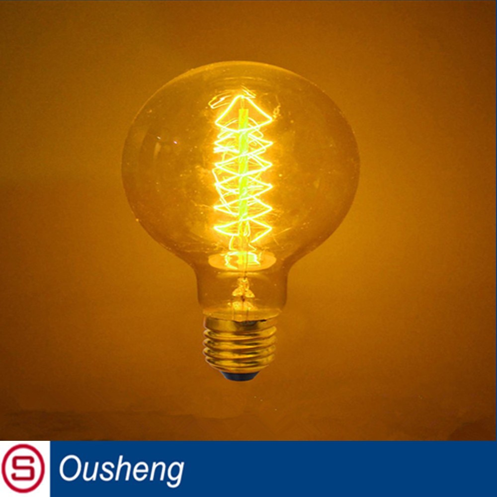 with 10 years manufacturer experience factory supply vintage antique Edison bulb G125 frosted led