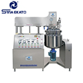Chinese Supplier High Quality Small Lab Emulsifier Mixer Customized Vacuum Homogenizing Emulsifying Mixer Price For Cream