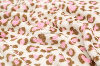 100%polyester printed coral fleece fabric by cheap price
