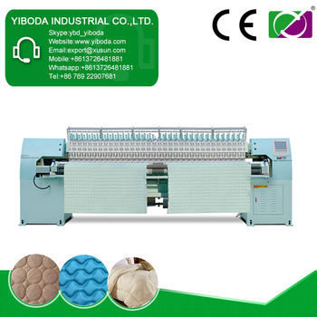 High efficiency easy to use leather embroidery sewing machines