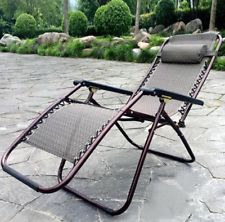 Outdoor Aluminum Folding Adjustable Beach Chair