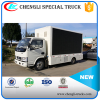 Dongfeng 4x2 P8 P10 Led Mobile Stage Truck 120HP for sale