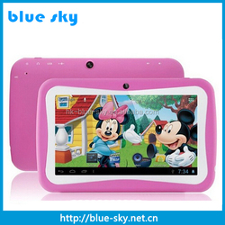 Wholesale 7 inch kids tablet, kids tablet pc/kids 7 inch tablet case of A33 Dual core