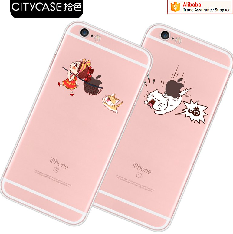 city&case gel shockproof case for cell phone