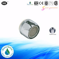 1.0 GPM Low Flow Dual-Thread Faucet Aerator - Kitchen and Bath