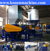 SWP series waste plastic film bags woven bags pp plastic crusher crushing machine equipment