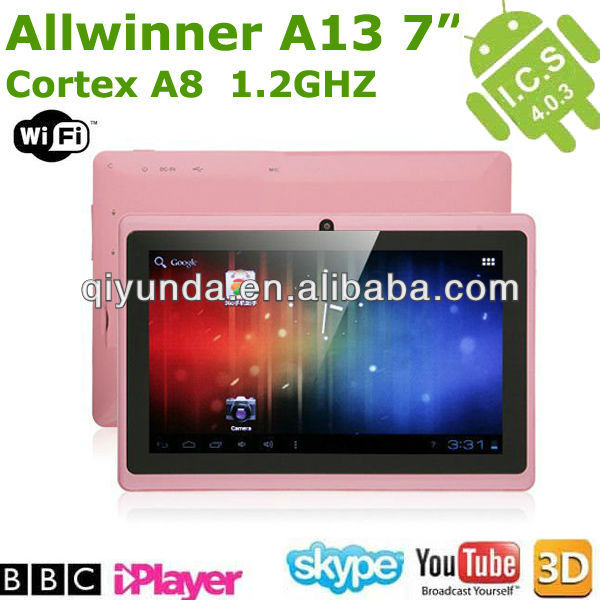 China wholesale mini pc android 4.0 tablet wifi 3g mid tab pc pink color manufacturers & Exporters