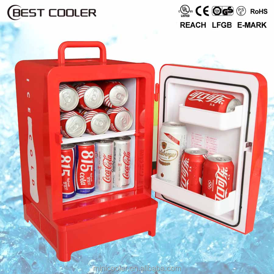 Hot sale CE 12 liter portable plastic <strong>electricity</strong> thermoelectric mini fridge