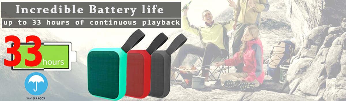 2018 NEW Mini Wireless Fabric Net Outdoor Portable Stereo Hifi Speaker Support TF Card