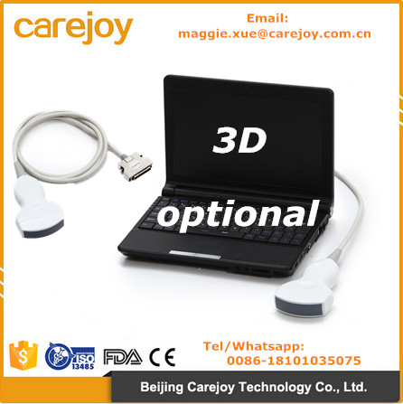 CE certified Laptop Ultrasound machine ultrasonic diagnostic system RUS-9000F with convex probe 3D software optional