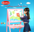 2016 new design wooden Lifting creativaly double-sided Magnetic Easel for Children
