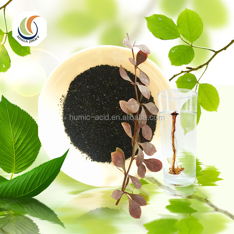 High Soluble Potassium Humate Acid From Leonardite Content Neutral Humic Acid Fertilizer