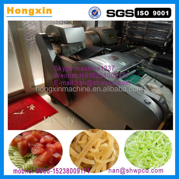 2015 multifunction vegetable cutter chopper, commercial vegetable cutting machine