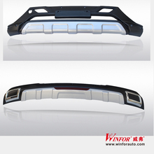 Good Quality ABS Front and rear bumper guard, ABS car bumper guards for IX35 2014