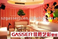 Digital Printing Wallpaper For Indoor Decoration